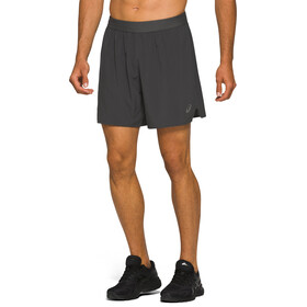 "asics Road 7"" Shorts Men graphite grey"
